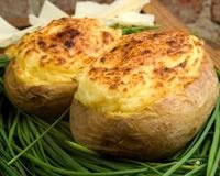 Pommes de terre soufflées au Munster (facile, rapide)