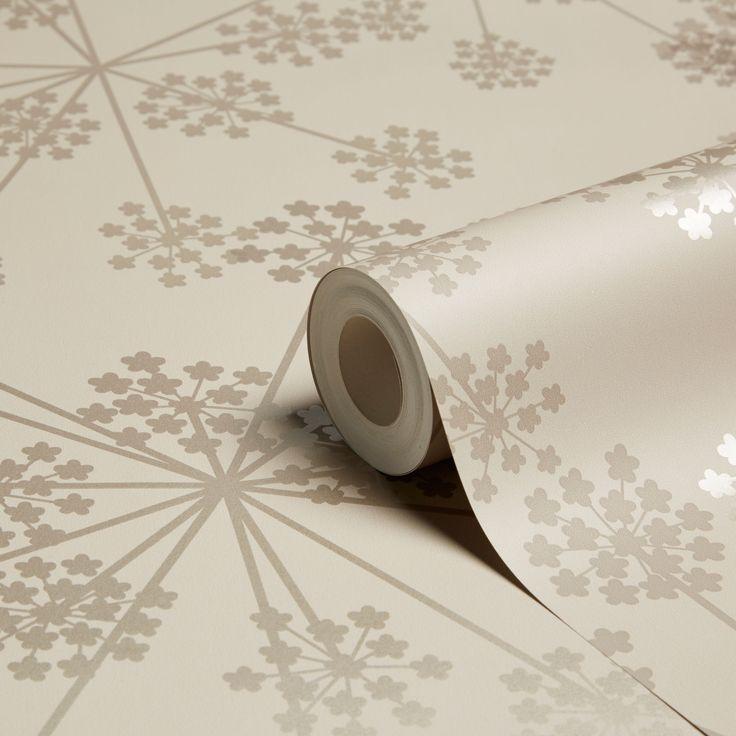 Graham & Brown Sparkle Buttermilk Starburst Wallpaper | Departments | DIY at B&Q