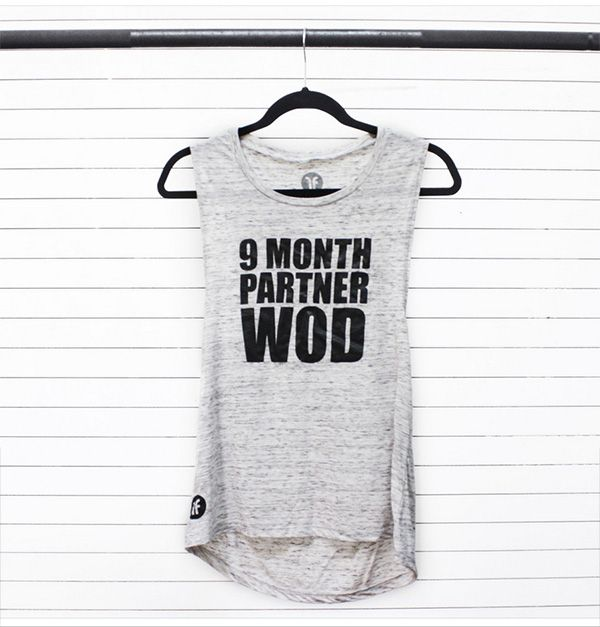 Fashletics 9 Month Partner WOD tank top CrossFit