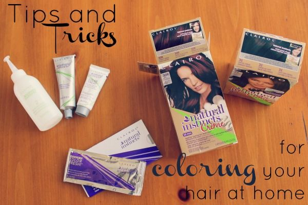 Get two boxes of color - dark brown and deep auburn - and mix the colors.