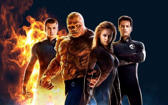 Cast of the Fantastic Four movies from 2005 and 2007. http://bamsmackpow.com/2015/01/02/fantastic-four-movie-comic-book-controversy/