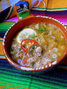 Sopa de Estrellitas Con Pollo-Chicken and Stars
