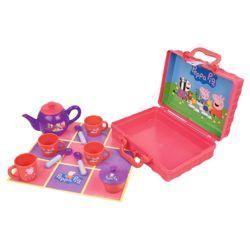 Peppa Pig Picnic Tea Set from Tesco £12