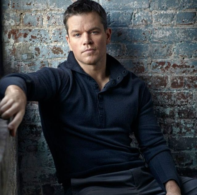 Matt Damon, a.k.a Mark Wahlberg's long lost brother...seriously, they look the same and have been commonly mistaken as the other person.