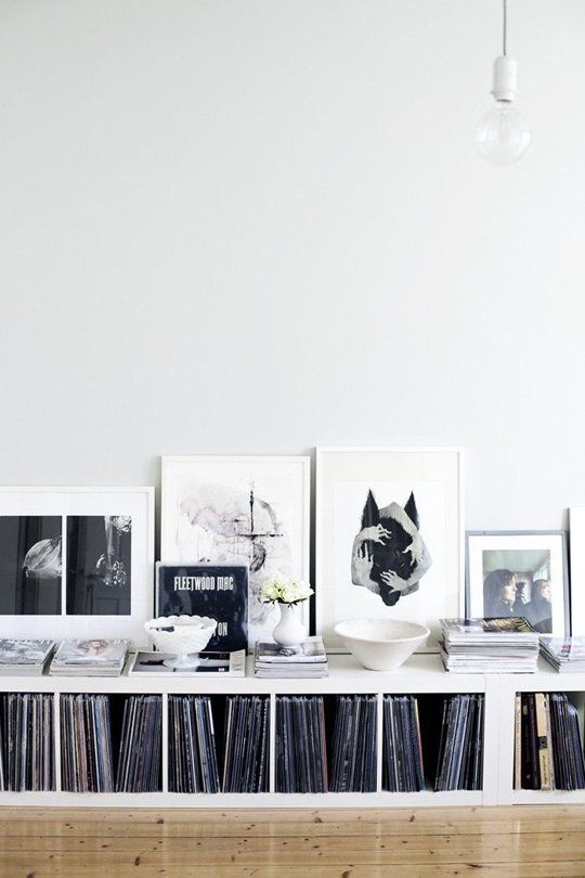 Small Space Secrets: Go Long and Low with a Console | Apartment Therapy - For below the window next to the office. Could work as an end table as well?
