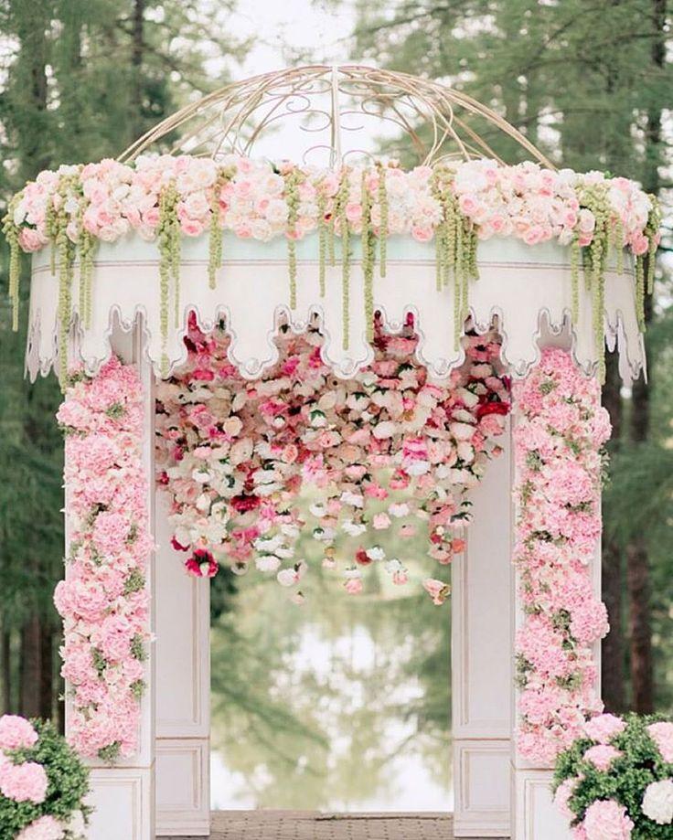 Modern Wedding Altar: 1000+ Ideas About Wedding Canopy On Pinterest