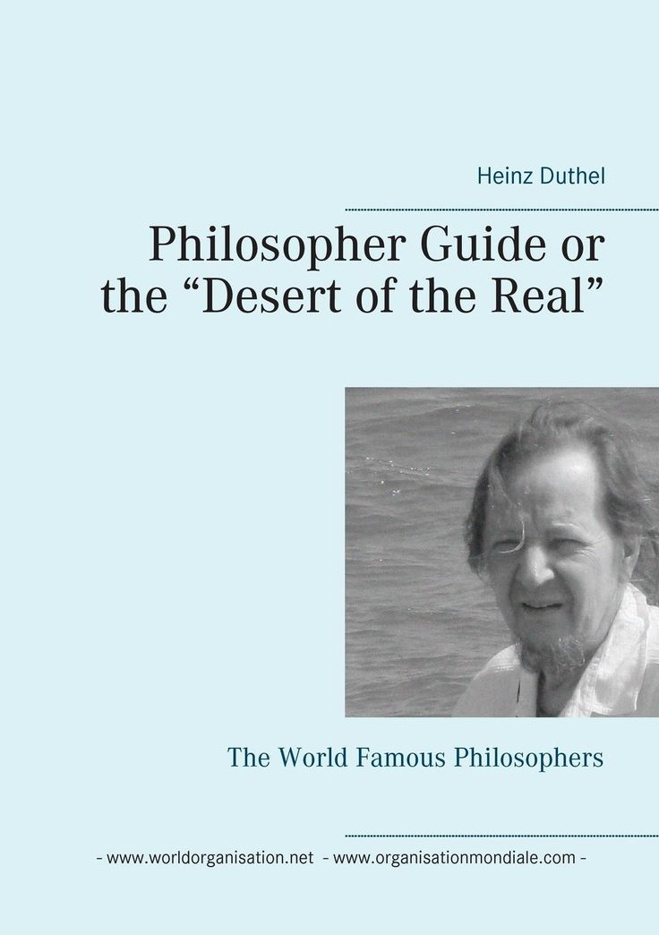 "http://dld.bz/faAcU  Heinz Duthel / Philosopher Guide or the """"Desert of the Real"""" 9783741211324 9783741211324 