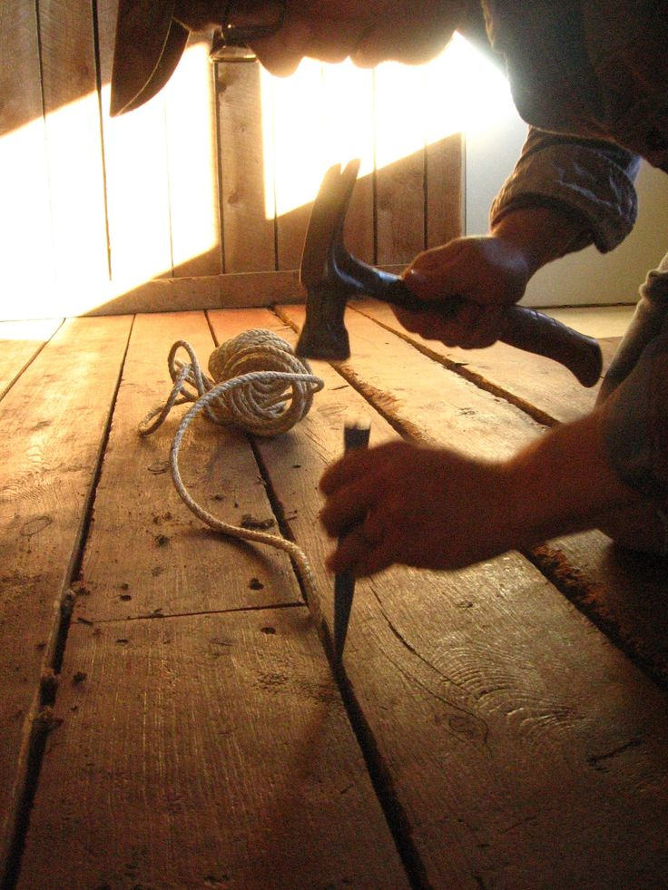 DIY How to Fill Gaps in Plank Wood Floors  Craft  Wood