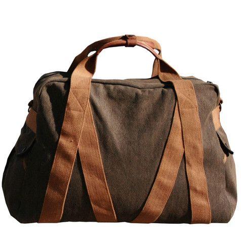 Large Trap Duffle Bag - GGbrn Whillas & Gunn