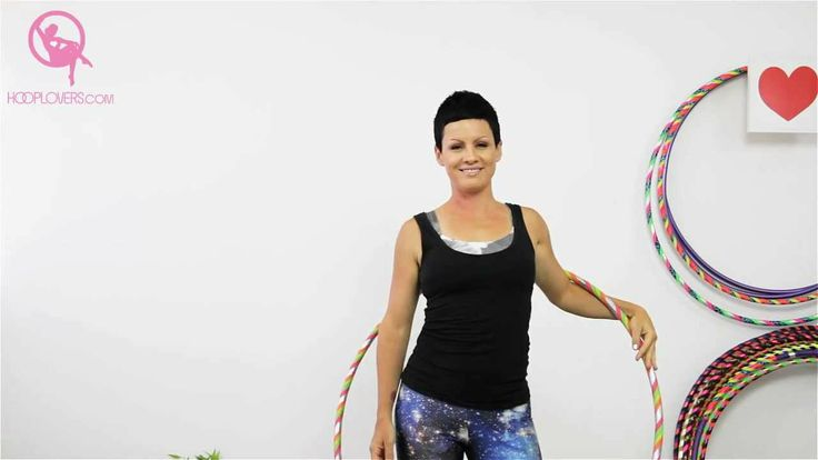 Hula Hoop Dance: How to do a Shoulder Duck Out with Your Hoop with Variations