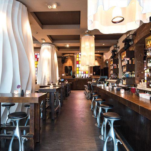 east Hotel und Restaurant Hamburg Bar Yakshis Bar Cocktails Drinks