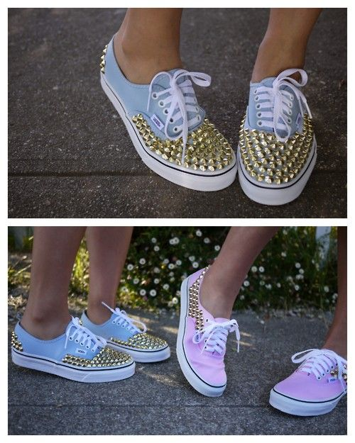 DIY: Do It Yourself // Sneakers Borchiate