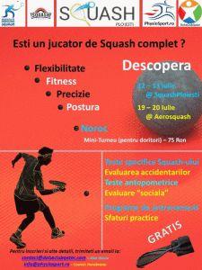 Caracteristicile fizice si performanta jucatorilor de Squash @ Squash Ploiesti. Testele antropometrice, evaluarea accidentarilor si programele de antrenament sunt cateva dintre atuurile acestui squash event organizat pentru prima data in Romania, de Federatia Romana de Squash... http://www.squashmania.ro/ai1ec_event/caracteristicile-fizice-si-performanta-actuala-a-jucatorilor-de-squash-din-romania-squash-ploiesti/