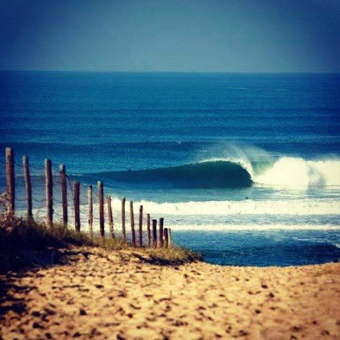 Hossegor, south west France #myhappytravels @whitestuff