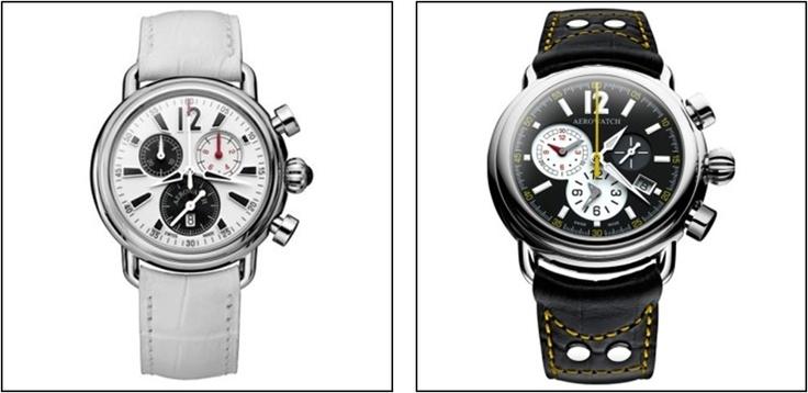 Relojes Suizos Aerowatch. Ideal para parejas que buscan relojes de máxima calidad. http://www.tutunca.es/relojes/f/marca/aerowatch
