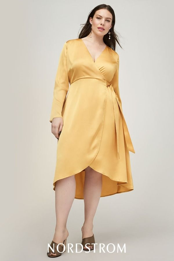 Make a sophisticated statement in a classic wrap dress ...