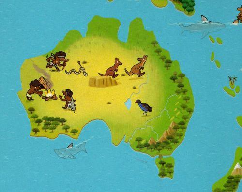 L'histoire de l'Australie pour les tout-petits