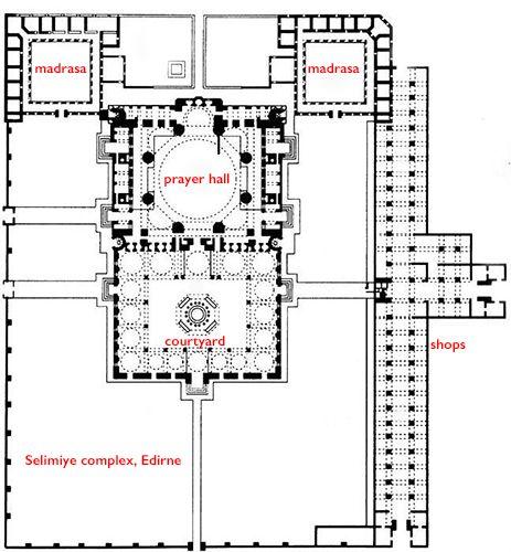 Mimar Sinan, Mosque of Selim II, Edirne | Art of the Islamic world in the medieval era | Khan Academy