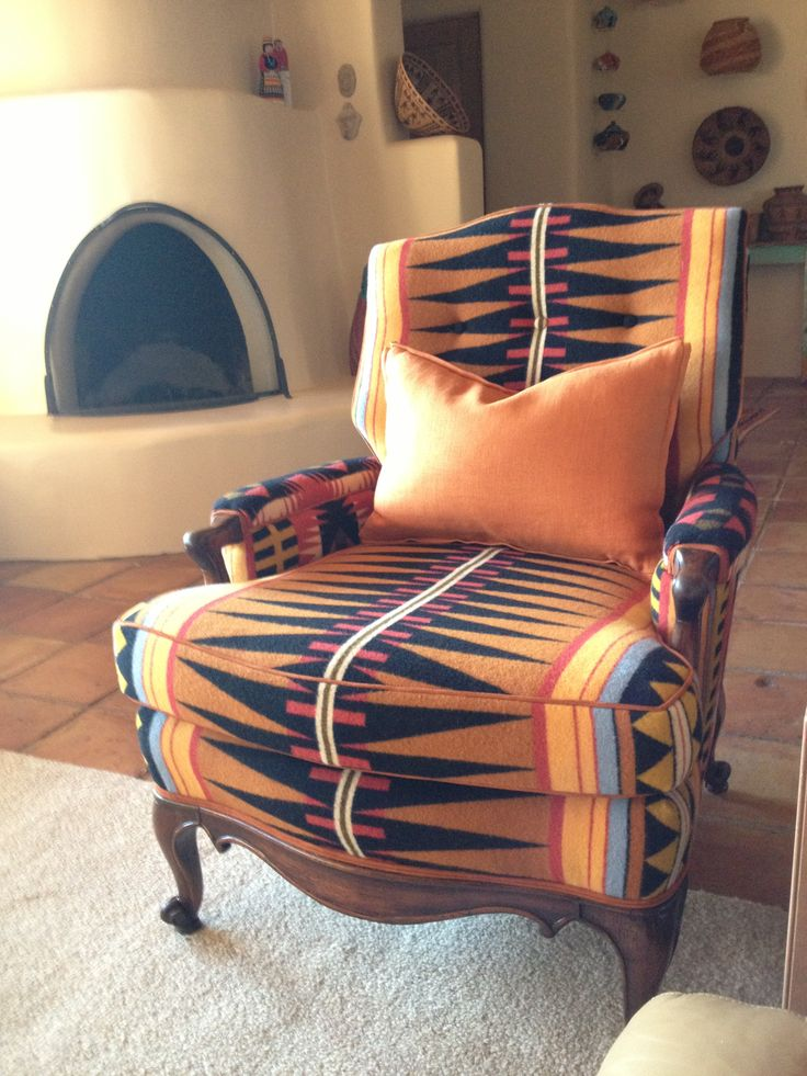 Southwest Geometric Patterns Reading Chair Sw Beds