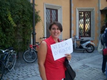Rita Annunziata  I am Bellagio native but an - extensive stay in the UK enable me to perfect my English and I think I express myself correctly, clearly and in a confident manne. I married a local and i have two children . I have been working in tourism since 1983 and one of my main areas of interest is gardens - My knowledge on plants is second to none!!!