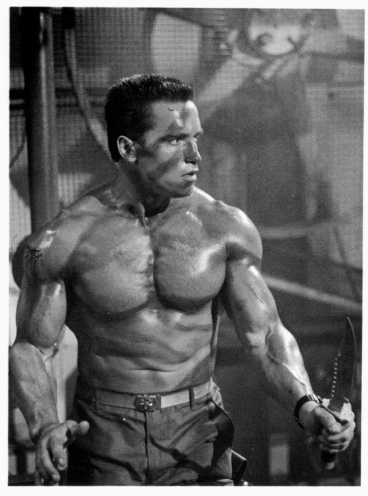 Please the Arnold schwarzenegger naked body