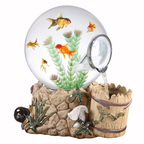 Magic Globe Fountain Well Aquarium, 5-Gallon