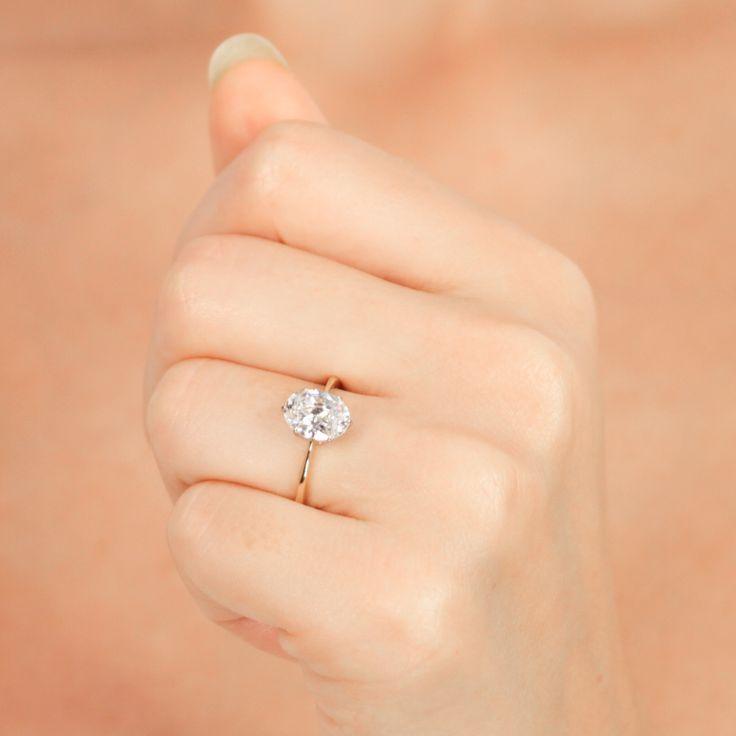 Best 10 Oval diamond ideas on Pinterest