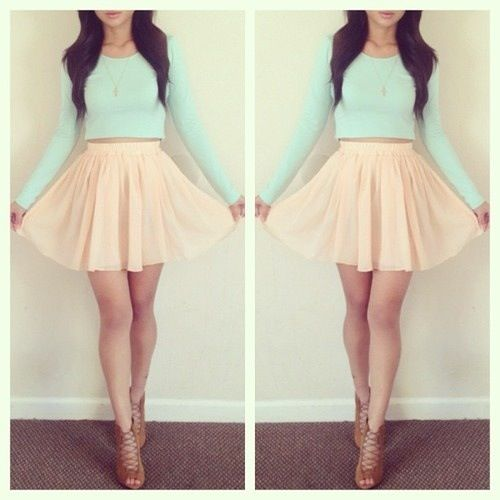 love this pastel look! it reminds me of ariana grande