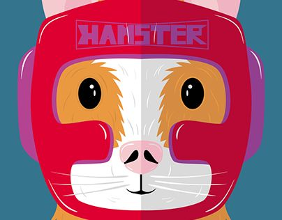 """Check out new work on my @Behance portfolio: """"Hamster"""" http://be.net/gallery/51590031/Hamster"""