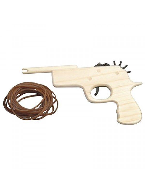 Koop Elastiek pistool inclusief 20 elastiekjes 24 cm