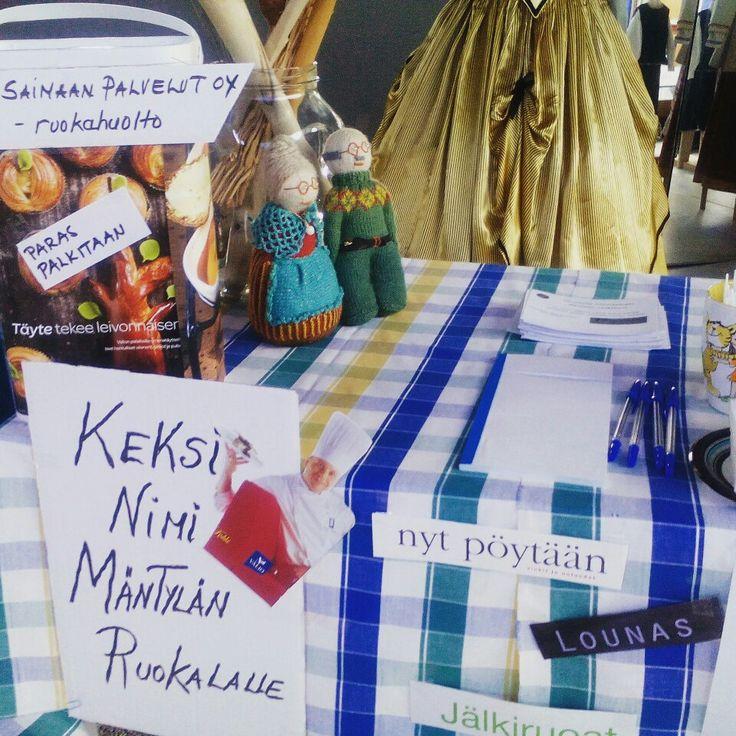 K  Terveysmessut 29.4.2017 Wirtaamossa Keksi nimi Mäntylän Palvelukeskuksen ruokalalle Ketteräkokeilu