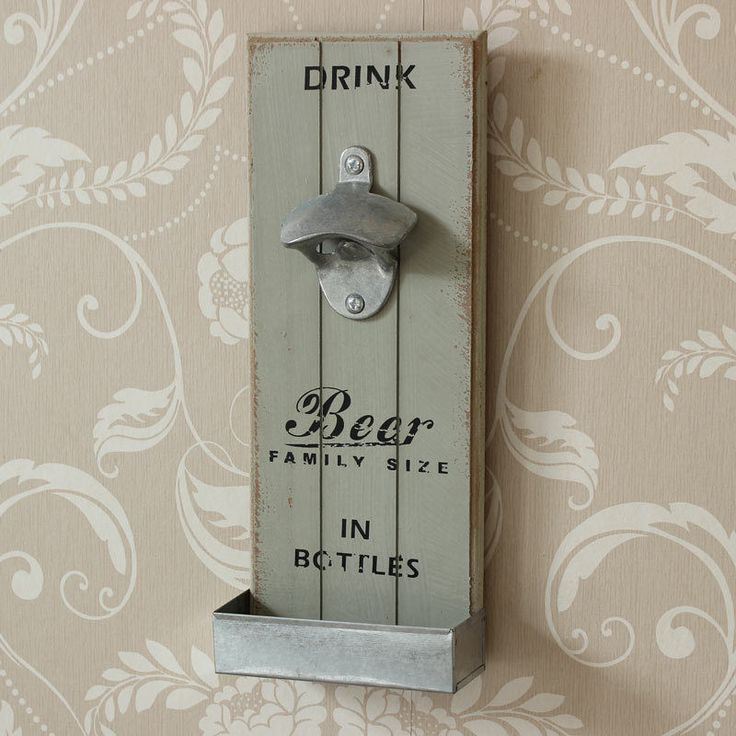 New Arrivals! Retro Wall Mounte.... Hurry, before its all sold out! http://gsr-decor.myshopify.com/products/retro-wall-mounted-bottle-opener-shabby-chic.