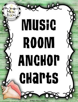 Music Anchor Charts {Hawaiian Tiki Beach}                                                                                                                                                                                 More