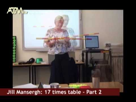 Teaching times tables