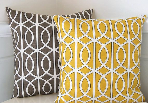 Decorative pillow ideas? Check out this link to the etsy shop! I'm in love...