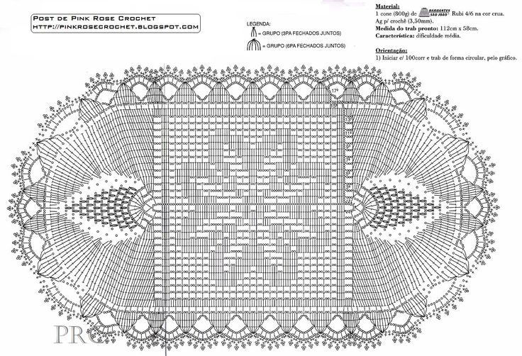 #BaiduImage tapete oval de croche grande em barbante com grafico_Pesquisa do Hao123