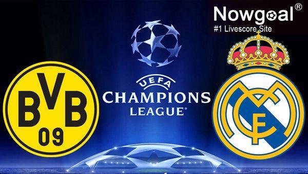 #UEFACL / Borussia Dortmund VS Real Madrid Prediction-- Borussia Dortmund 0.5 @ 1.53.