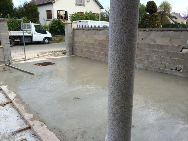 25 best ideas about pose dalle beton on pinterest dalle de beton dalle de - Plastique sous dalle beton ...