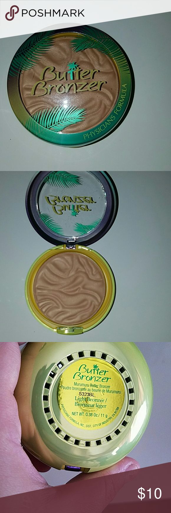 Physicians Formula Butter Bronzer shade Light butter bronzer. Physicians Formula Makeup Face Powder