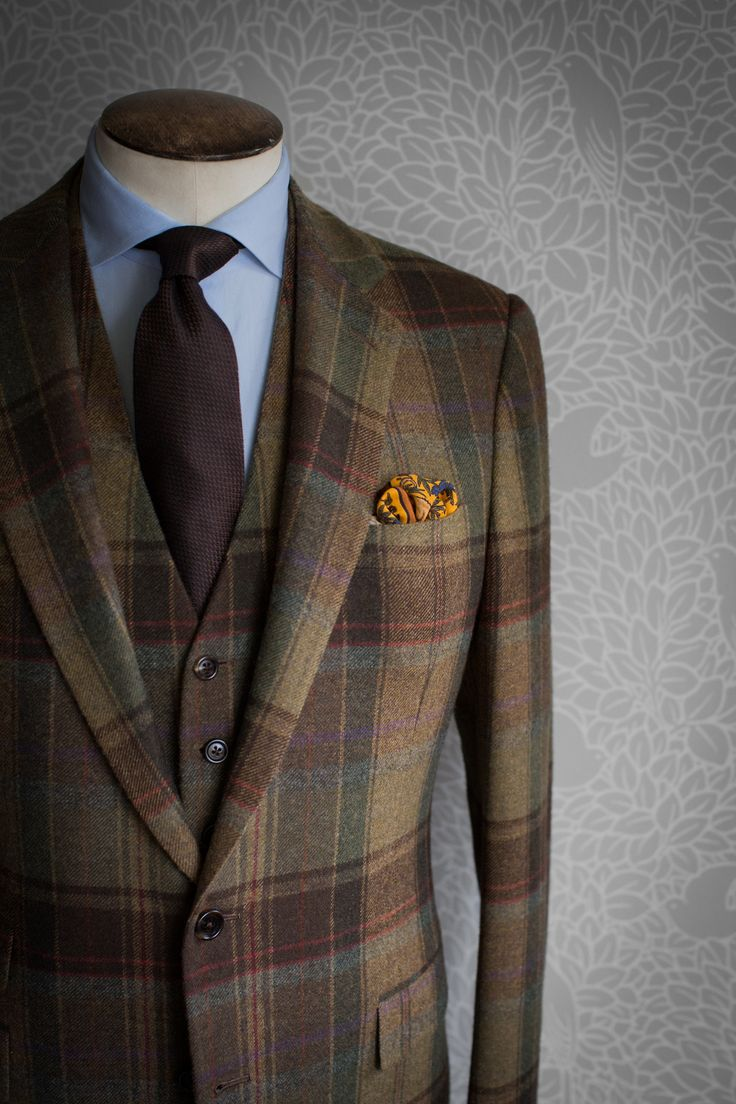 Ralph Lauren Purple Label Tweed Suits