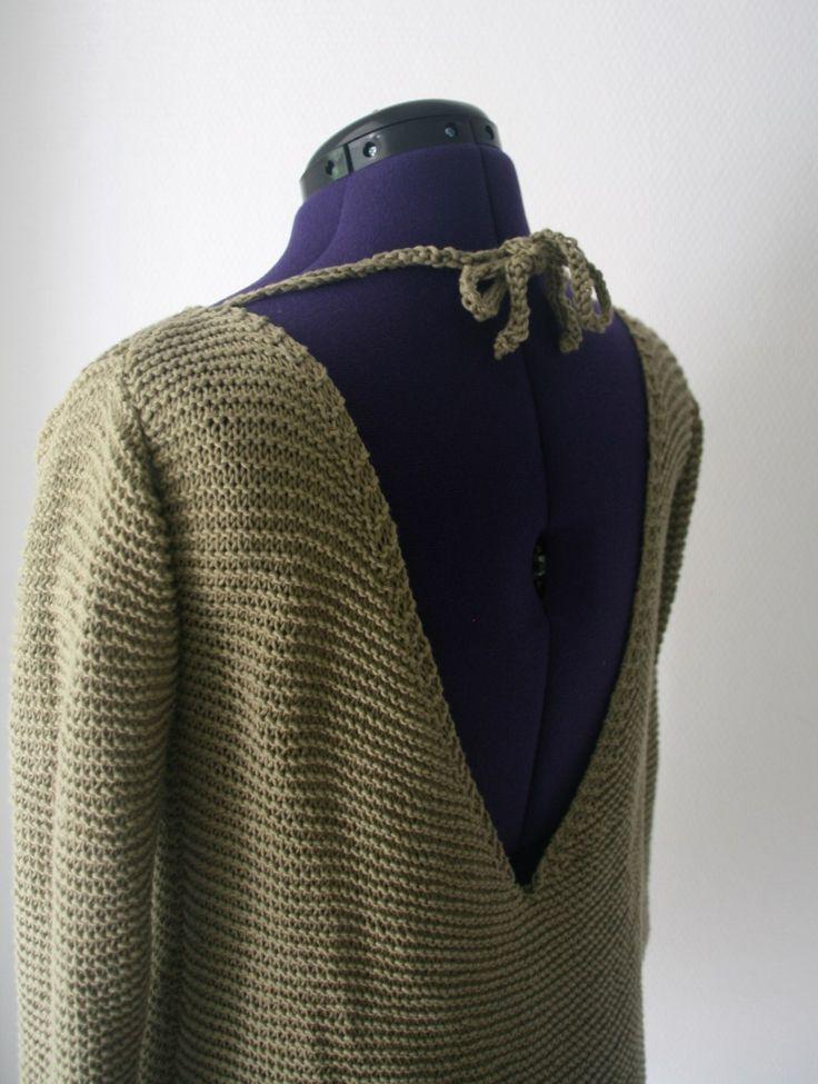 Silver Monk Sweater