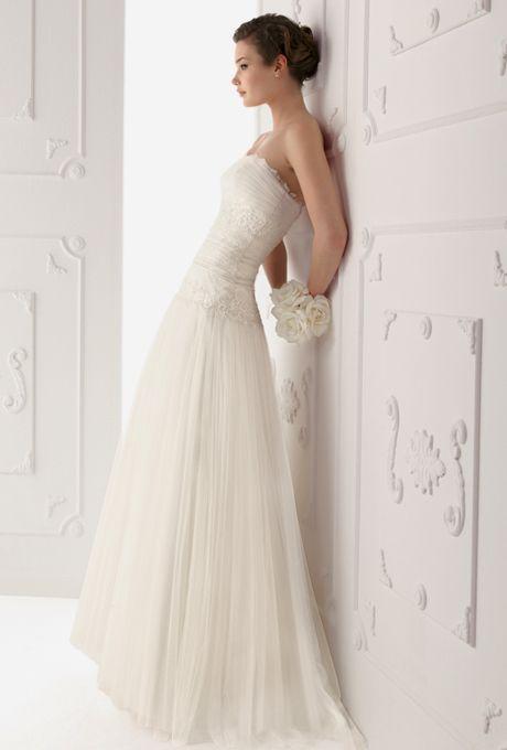 Sheath Wedding Dresses   Brides.com