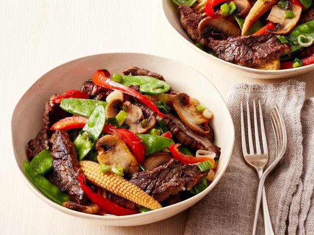 Get Trisha Yearwood's Beef Stir-Fry Recipe from Food Network