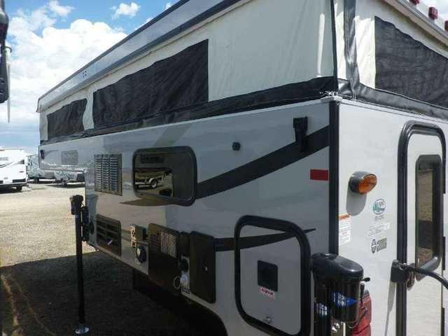 2016 New Palomino SS-1240 Truck Camper in California CA.Recreational Vehicle, rv, 2016 Palomino SS-1240 Lightweight Pop-up Camper