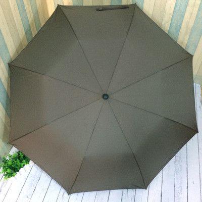 Semi-Automatic Big Umbrella Quality Paraguas Men Rain Women 120cm Windproof Large Parasol Sun 2-folding Outdoor Rain Gear BY0100
