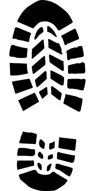 van welk familielid is deze voetafdruk? patroon linken aan kleur kledij + aanpassing grootte