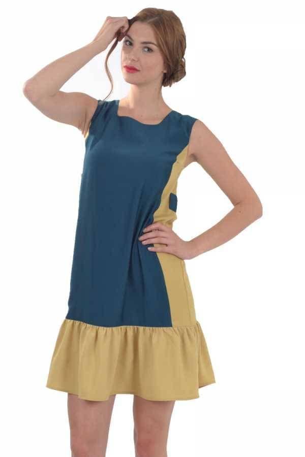 KIRACH - Etek Fırfırlı Elbise