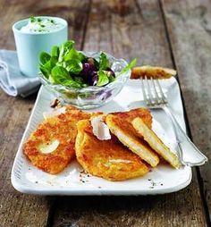 parmesan sellerieschnitzel mit kr uterdip und kleinem salat rezept und and parmesan. Black Bedroom Furniture Sets. Home Design Ideas