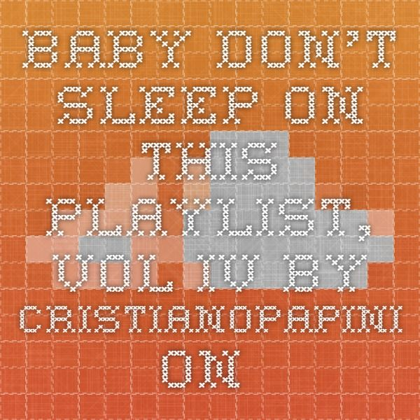 "Baby Don't Sleep On This Playlist, Vol. IV by cristianopapini on SoundCloud - Hear the world's sounds  BABY DON'T SLEEP ON THIS PLAYLIST, VOL. IV  1- Kendrick Lamar ""Untitled""  2- Nosidam ""Turn The Lights Off""  3- Daye Jack ""Still Barking""  4- Lupe Fiasco & Crystal Torres ""Adoration of the Magi""  5- Michael Uzowuru & Vic Mensa ""13th April""  6- Nas & J.Dilla ""The Season""  7- Coultrain ""Side Effex of Make-Believe""  8- Domo Genesis ""STRICTLY4MYNIGGAZ""  9- Diggs Duke ""Forever Love Is ..."