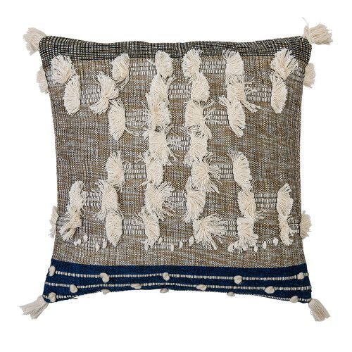 Bloomingville Fabric Synthetic Throw Pillow